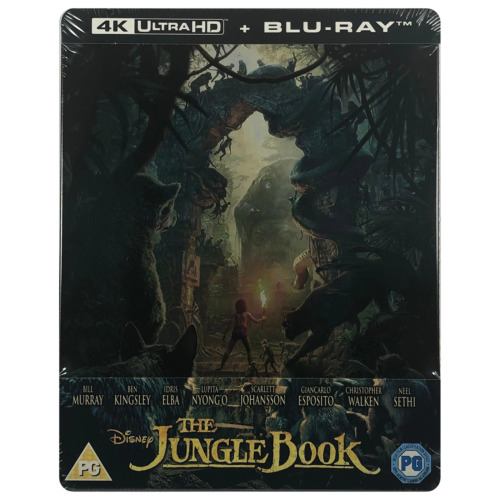 The Jungle Book (Live Action) 4K Ultra HD Steelbook - Limited Edition Blu-Ray