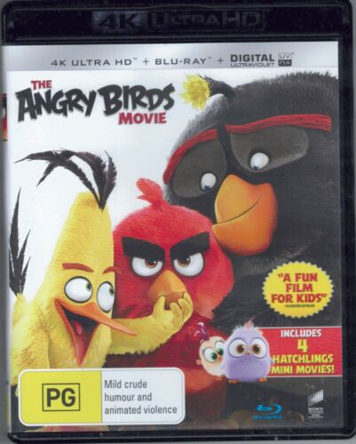 The Angry Birds Movie 4K Ultra HD + Blu-Ray FREE POSTAGE!