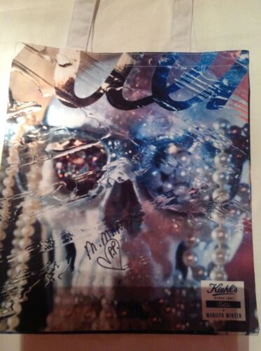 AUTHENTIC MARILYN MINTER RARE SIGNED TOTE WITH PERSONAL DRAWING