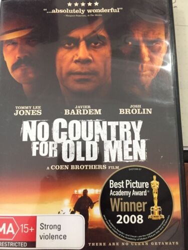 No Country for Old Men (DVD, 2011). Coen brothers masterpiece