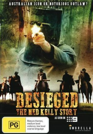 BESIEGED -  THE NED KELLY STORY DVD NEW AND SEALED AUSTRALIAN MOVIE