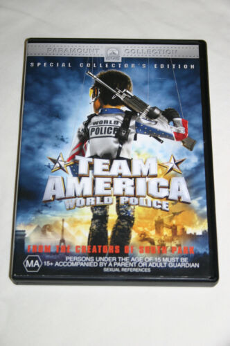 Team America World Police (2004) Special Collector's Edition R4 DVD