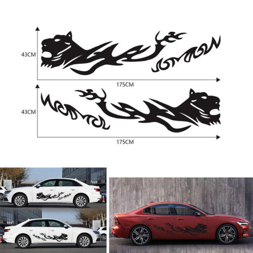 Silver CARRUN 1Pc Face Mask Emblem Rear Trunk Decal Fender Side Sticker