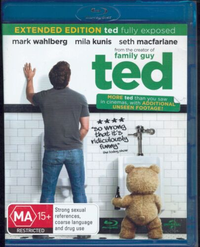 TED Extended Edition Blu-Ray Movie FREE POSTAGE!