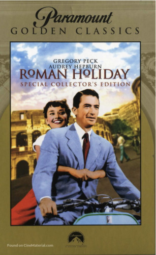 ROMAN HOLIDAY - SPECIAL COLLECTOR'S EDITION (DVD) BRAND NEW!!! SEALED!!!