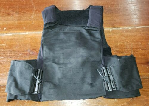 FirstSpear Sloucher 6/12 Tubes XL black low vis armor carrier vest plate LVACOther Current Field Gear - 36071