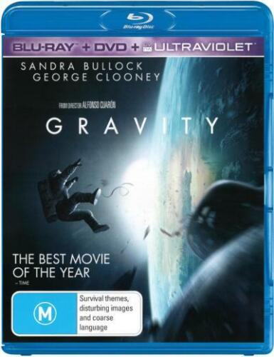GRAVITY BLU-RAY 2013 SANDRA BULLOCK & GEORGE CLOONEY LIKE NEW PLAYED ONLY ONCE