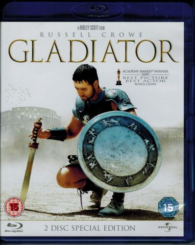Gladiator - 2 Disc Special Edition| Russell Crowe | Blu Ray + FREE POSTAGE