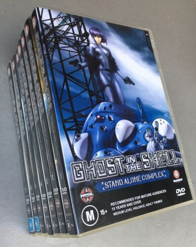Ghost in the Shell Stand Alone Complex: DVDs 1 - 7, Region 4 Australia