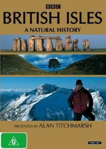 British Isles - A Natural History (DVD, 2005, 3-Disc Set) Very Good Condition