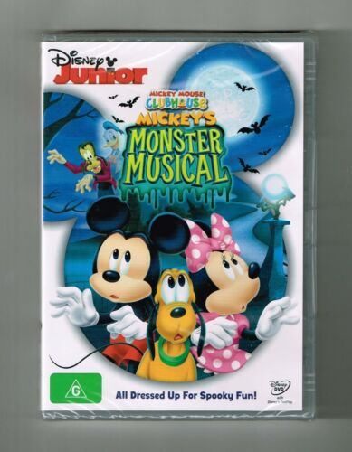 Mickey Mouse Clubhouse - Mickey's Monster Musical Dvd Brand New & Sealed