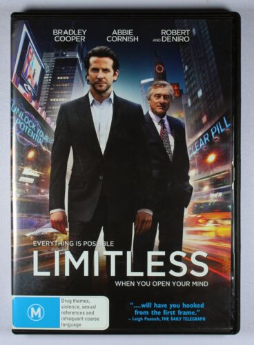 Limitless (2011 film) | Bradley Cooper | Blu Ray + FREE POSTAGE