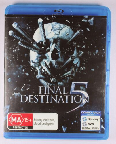 Final Destination 5 (2011 film) Blu Ray + FREE POSTAGE