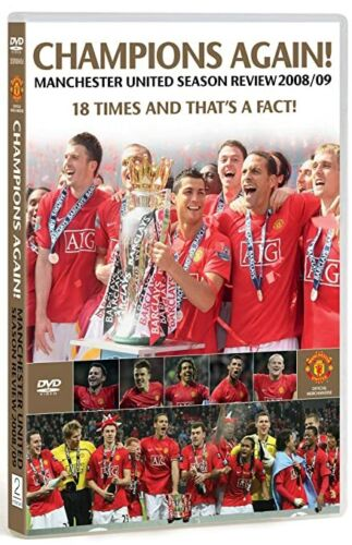 Manchester United champions again Season Review 2009/09 dvd - brand new sealed