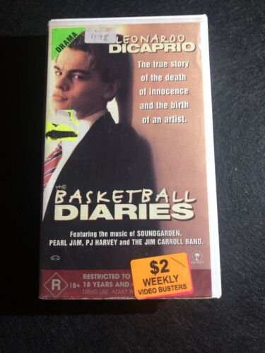 The Basketball Diaries VHS Video Tape