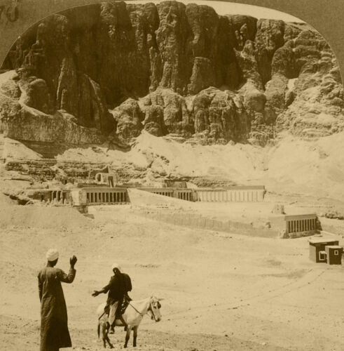 Keystone Stereoview Queen Makere's Temple, Thebes 1920's Egypt 100 Card Set #E70