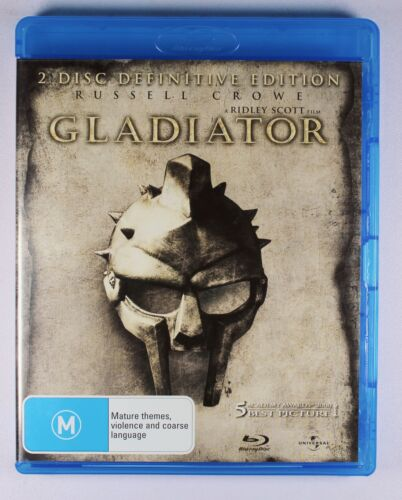 Gladiator (2000 film) 2 Disc Definitive Edition   Russell Crowe   Blu Ray Movie