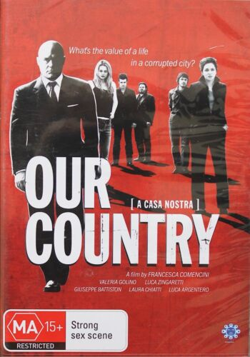 OUR COUNTRY/A CASA NOSTRA - (DVD) BRAND NEW!!! SEALED!!!