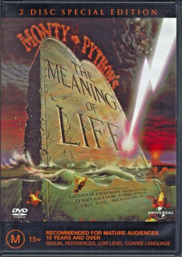 Monty Python's The Meaning of Life DVD Movie - 2 Disc Special Edition  FREE POST