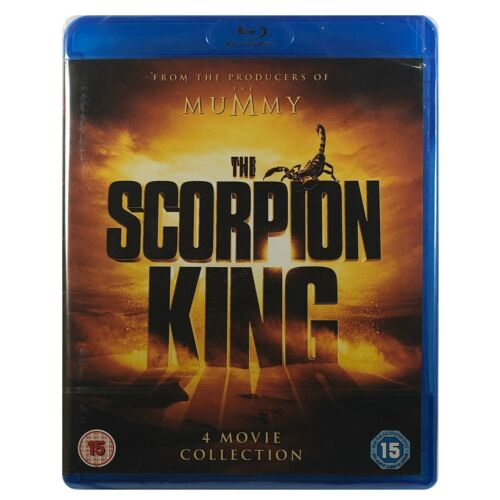 The Scorpion King 4 Movie Collection Blu-Ray Box Set **Region B**