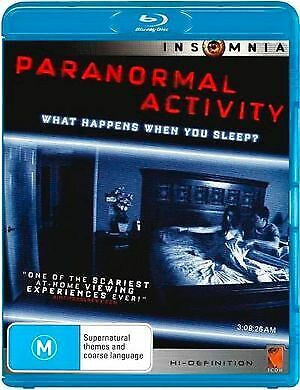 PARANORMAL ACTIVITY - (BLU-RAY) BRAND NEW!!! SEALED!!!