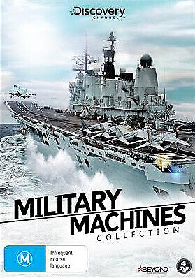 Military Machines Collection (DVD, 2018, 4-Disc Set) New Not Sealed Region 4