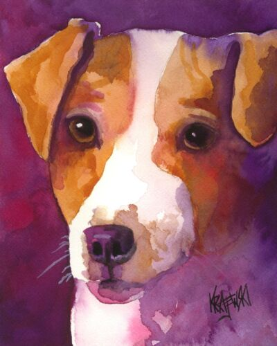 Jack Russell Terrier Gifts | Art Print form Painting | Poster, Picture 11x14