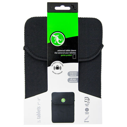 """Gecko universal tablet sleeve for size 7""""-8"""" RRP $14.95"""