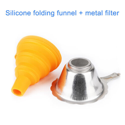 Metal UV Resin Filter Cup Funnel Foldable for ANYCUBIC Photon SLA 3D Printer AU
