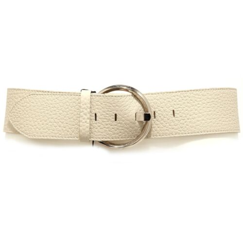 3150J cintura donna con macchia nera ORCIANI stained black  leather belt woman