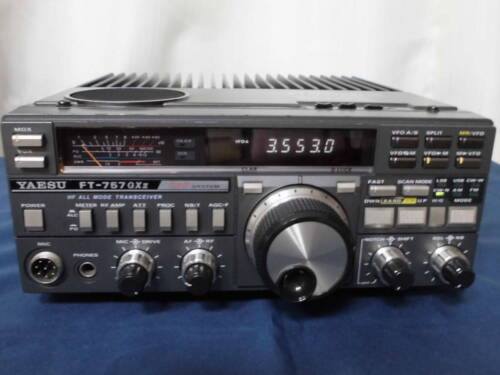 Yaesu HF transceiver FT -757 GXII Used operation confirmed