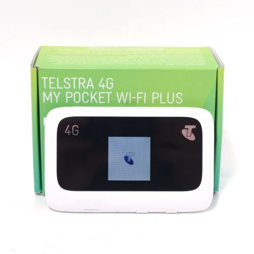 Telstra 4G My Pocket WI-FI Plus ZTE MF910 TESTED in Good Condition MF910