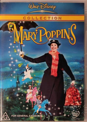Mary Poppins DVD Movie - Walt Disney Collection - Julie Andrews - FREE POST!