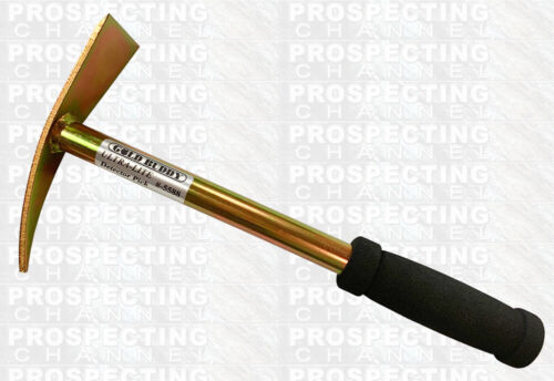GOLD BUDDY JOBE ULTRA LITE GOLD PROSPECTING DETECTOR PICK 14 INCH DIG TOOL
