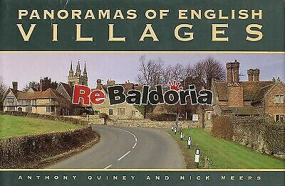 Panoramas of english villages Weidenfeld and Nicolson Quiney Anthony, Meers Nick