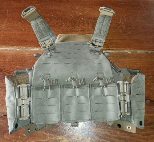FirstSpear Amphibian plate carrier 6/12 Ranger green triple SCAR Heavy mag pouchOther Current Field Gear - 36071