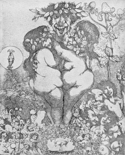 """CHARLES BRAGG """"LUST"""" 