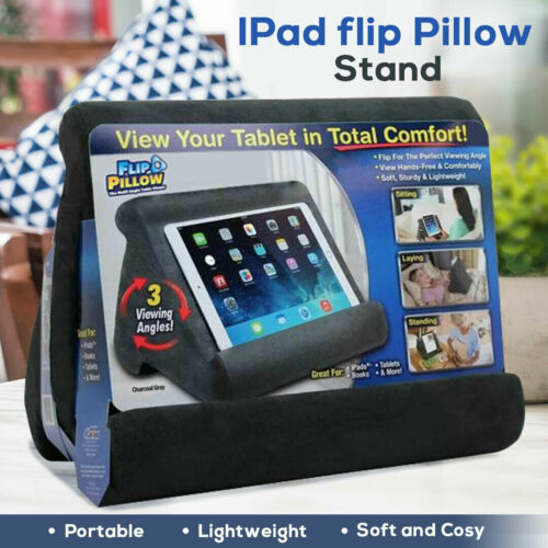 Tablet Pillow Pad Stands Book Reader Lap Rest Stand iPad iPhone Cushion Holder