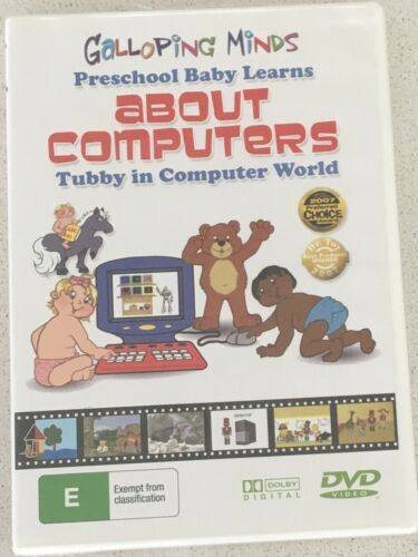 GALLOPING MINDS Preschool Baby Learns about Computers DVD All Regions PAL NEW