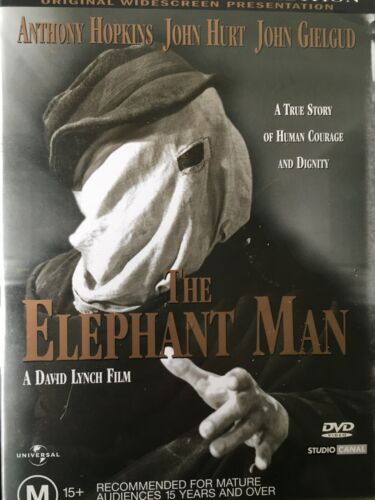 THE ELEPHANT MAN - 20th Anniversary DVD David Lynch 1980 Excellent Condition!