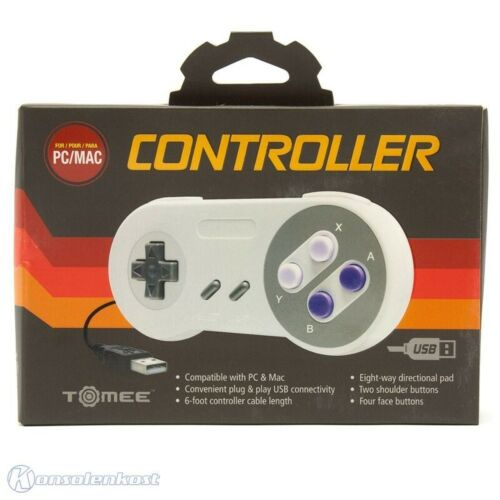 PC - SNES USB gamepad [Tomee] NEW & BOXED