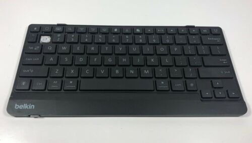 Belkin F5L114 Bluetooth Wireless Keyboard - Black