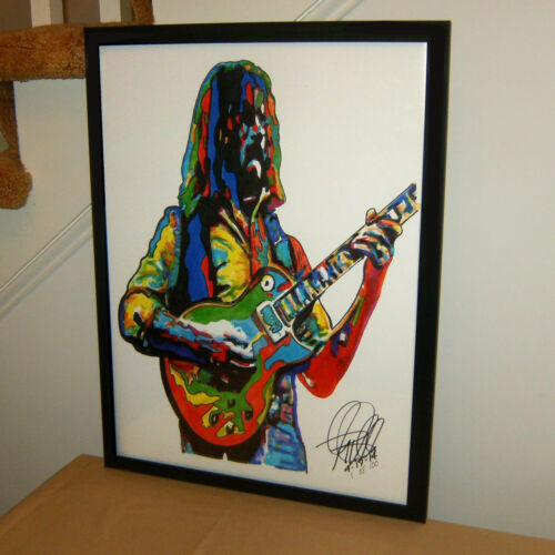 Dickey Betts The Allman Brothers Band Guitar Music Poster Print Wall Art 18x24