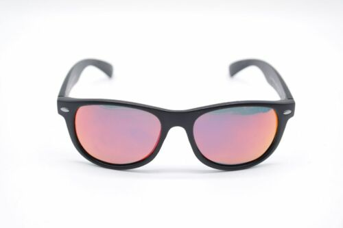 His Polarized HP50104-1 46 15 Nero Ovale Occhiali da Sole Nuovo