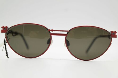 Vintage Neostyle Holiday 947 50 18 Rosso Ovale Occhiali da Sole N.