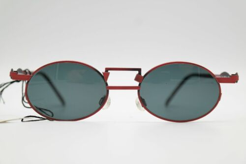 Vintage Neostyle Holiday949 48 20 Rosso Ovale Occhiali da Sole N.