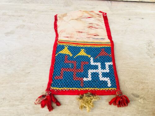 Vintage Hand Made Beads Fine Indian Tribal Lady Art Work Table Decorative