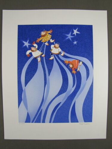 Rie Munoz Signed/Numbered Limited Ed Serigraph Northern Lights Legend 67/595