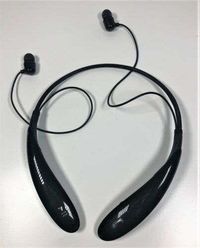 LG Electronics Tone Pro HBS-760 - Wireless Bluetooth Stereo Headphones Black