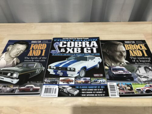 AUSTRALINA MUSCLE CAR SPECIAL EDITIONS